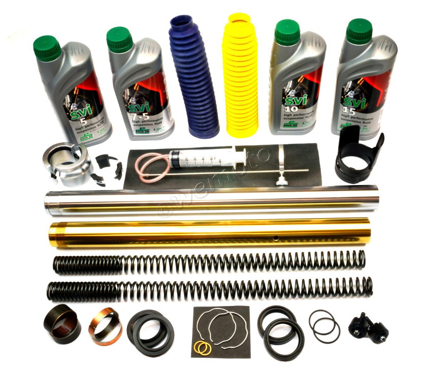 All the components needed for a fork rebuild can be found at WMD